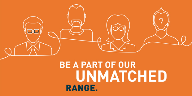 Be a part of our unmactched range